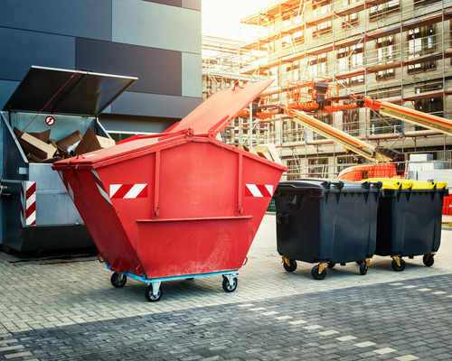 Bin hire in Adelaide image by Easy Skips